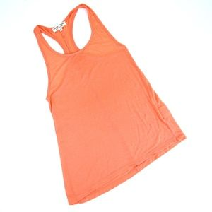 Threads 4 Thought Tops - Orange Racerback Tank Threads 4 Thought